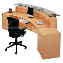 New Design and Fashion Wooden Office Reception Table (HF-R007)
