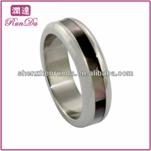 cheap wholesale ,2014 fashion ring, high polished stainless steel ring , classic and charming men ring