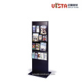 Double+Sided+Brochure+Metal+Display+Stand