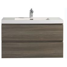 Wasserdichte MDF Badezimmerschrank Eitelkeiten mit Waschbecken