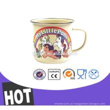 a caneca de café da mão do drinkware do esmalte, passa RoHs, certificado de LFGB
