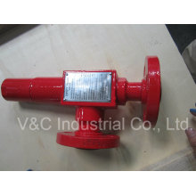 Válvula de segurança ANSI de aço fundido