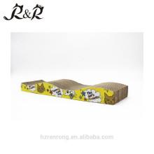 Eco friendly modern furniture design 3 tier sisal cardboard cat scratcher CS-3010