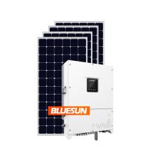 Bluesun Easy Install 30kw Grid Tied Solar Power System 30 KW On Grid Solar Power System For Home