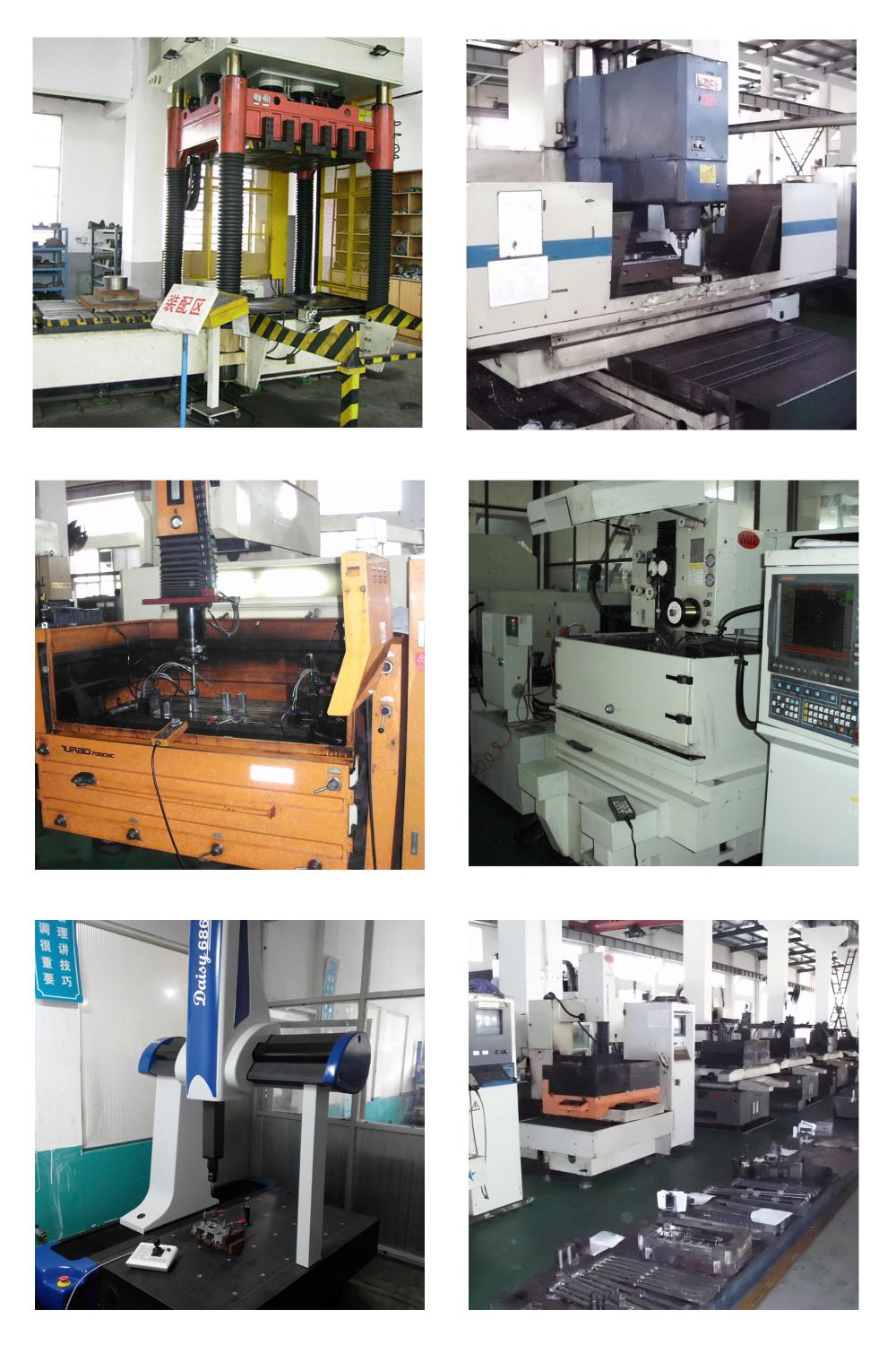 Mould equipment and CMM
