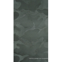 Camouflage Jacquard Polyester Fabric with Foam/Knitted Backing