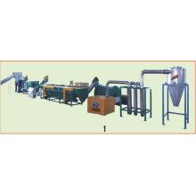 Abfallplastikgranulat, das Maschine herstellt