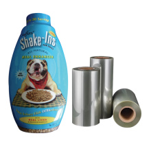 Eco-Friendly Biodegradable shrink film pla sleeve for plastic bottle