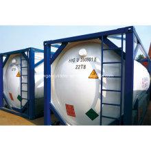 Portable Tank Cryogenic LNG Tank 100m3 Capacity