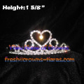 Heart Shaped Pageant Tiaras
