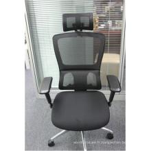 Chaise ergonomique de dossier de bureau de haut dossier (FOH-X4P-6A)