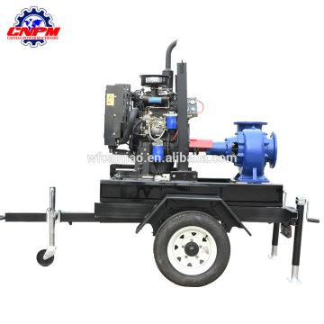 Neues Design der luftgekühlten hocheffizienten Dieselmotorpumpe