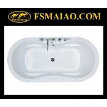 Bañera incorporada del baño de acrílico (BA-8812)
