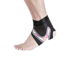 Elastic High Compression Best Price Knitted Ankle Sleeve Brace Support for Pain