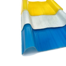 Plastic material transparent colored fiberglass reinforced flexible clear corrugated plastic for balcony shed roof sheet Price