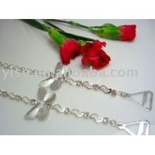 butterfly metal bra straps