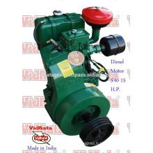 Diesel Engine lister india 10 ch d'air refroidi