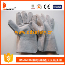 Grey Cow Split Small Welder Gloves Dlw602