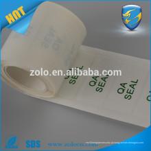 Rolamento Auto-adesivo auto-adesivo auto-adesivo personalizado para holograma BOPP