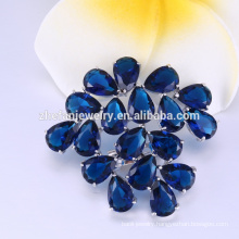Pop Korean style China wholesale flower brooch for wedding and party cheap price china supplier