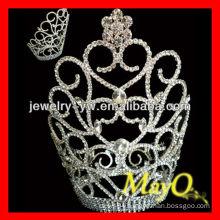 Lovely small flower design diamond crown for girls