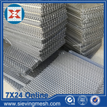 Galvanizli Delikli Metal Panel