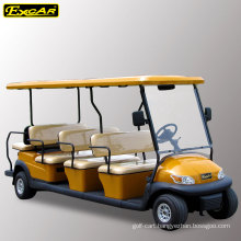 EXCAR 11 passengers electric golf cart for sale sightseeing car tour bus
