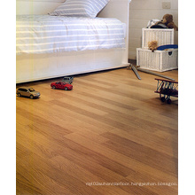 Household 8.3mm E1 HDF AC3 Crystal Walnut Laminate Flooring
