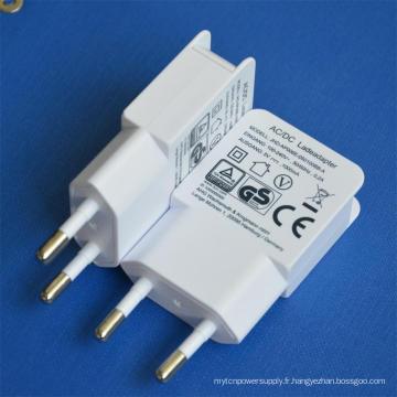 EU Plug 5V1a Chargeur USB