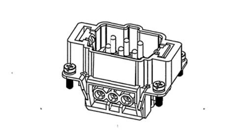 Heavy Duty Industrial Cable Connectors