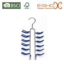 Eisho Best Sale Подгонянная синь военно-морского флота PVC вешалка