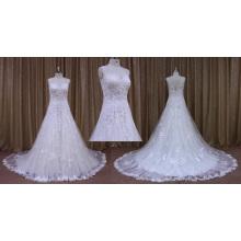 Рукавов Кружева Аппликация Свадебное Платье