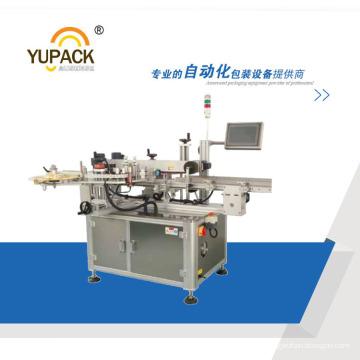 Machine d'emballage d'étanchéité et d'étiquetage à double face PLC Control Carton
