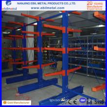 Warehouse Storage Single-Sided & Double-Sided Storage Cantilever Shelves