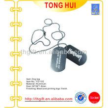 Nickel frei hängen Hundemarke / Halskette mit Drucklogo