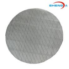 Placa perfurada de aço inoxidável circular da peneira
