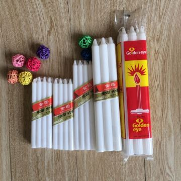 50G 55G No Smoke White Votivkerzen