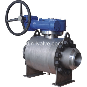 Segel Logam Trunnion Ball Valve