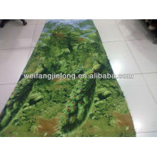 100GSM polyester disperse printed bedsheet fabric stock