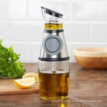 Presser et mesurer le distributeur de verre Pas de bouteille d'huile à égoutter
