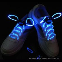 LED Light Up piscando cadarços sapatos tring