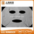 nonwoven microfiber facial mask sheets 60gsm white color hotsale