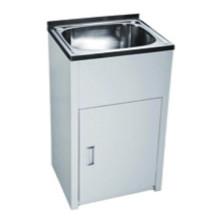 Cuarto de baño White Single Sink Laundry Tub (555)