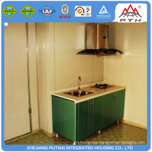 2016 low cost prefab kitchens container house
