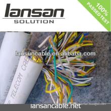 LANSAN Câble téléphonique haute vitesse à 100 paires avec enveloppe en PVC 0,5 mm Conducteur nu CE UL ISO APPROBATION