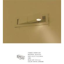 Aluminum Bedside Reading LED Wall Lamp (6058W-LED)