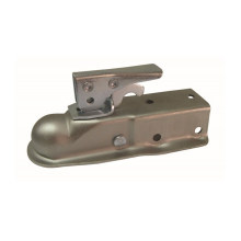 """1-7/8"""" Ball Quick-Locking Trailer Straight Tongue Coupler (zinc or oil)"""