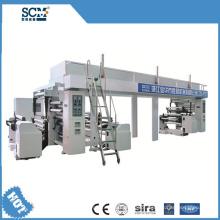 Máquina de laminação plana de papel
