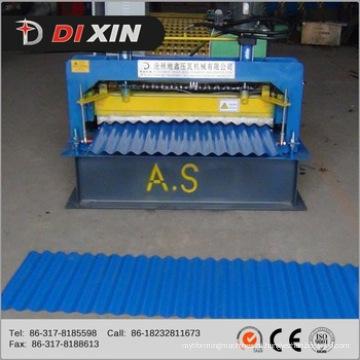 Máquina para fabricar chapa de aço ondulada de alumínio galvanizado para telhados metálicos Máquina formadora de laminação a frio de painel de telhado de parede de aço colorido