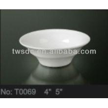 Tazón de cerámica turca restaurante para la venta por mayor importador